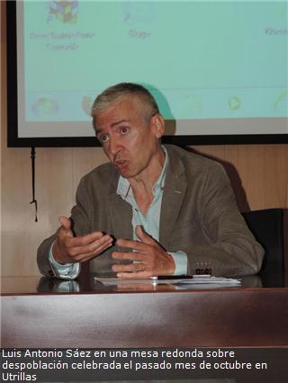 Entrevista a Luis Antonio Sáez, presidente del CEDDAR y Profesor de economía aplicada