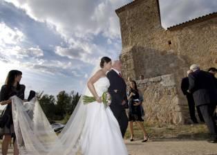 Torremediana celebra una boda 57 años después de oficiarse la última