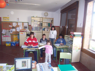 El Ayuntamientode Fuentes Calientes busca una familia que evite el cierre de la escuela