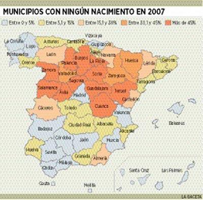 NADIE NACE EN LA ESPAÑA RURAL