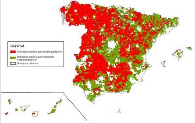 España pierde 876 pueblos en los últimos 15 años