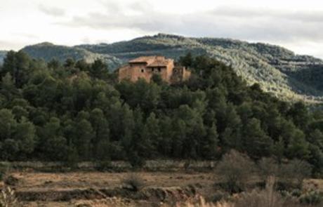 Aldea abandonada en Teruel.